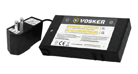 Vosker Lithium Battery Pack and Charger