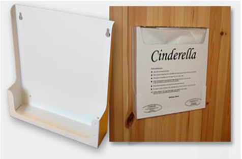 Cinderella Bag Holder - Steel