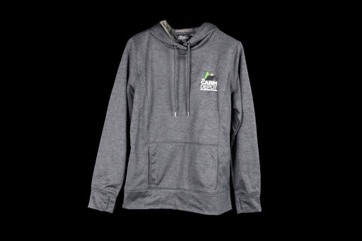 Men's Heathered Black Hoodie - The Cabin Depot