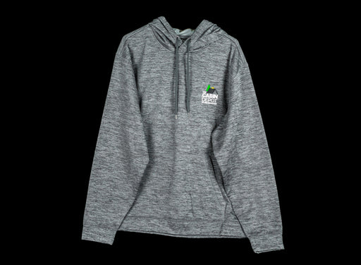 Men's Heathered Charcoal Hoodie - The Cabin Depot