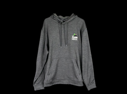 Women's Heathered Black Hoodie - The Cabin Depot