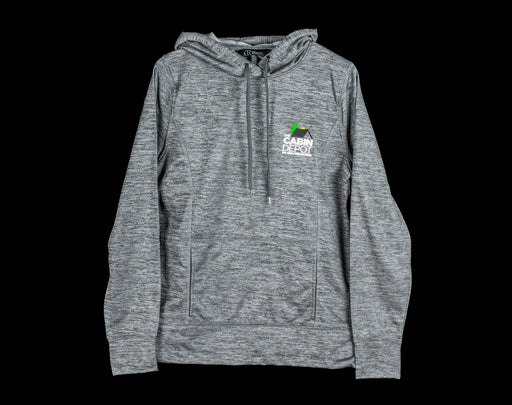 Women's Heathered Charcoal Hoodie - The Cabin Depot
