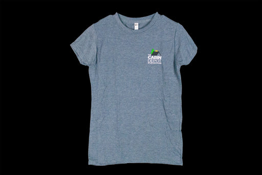 Women's Heathered Blue T-Shirt