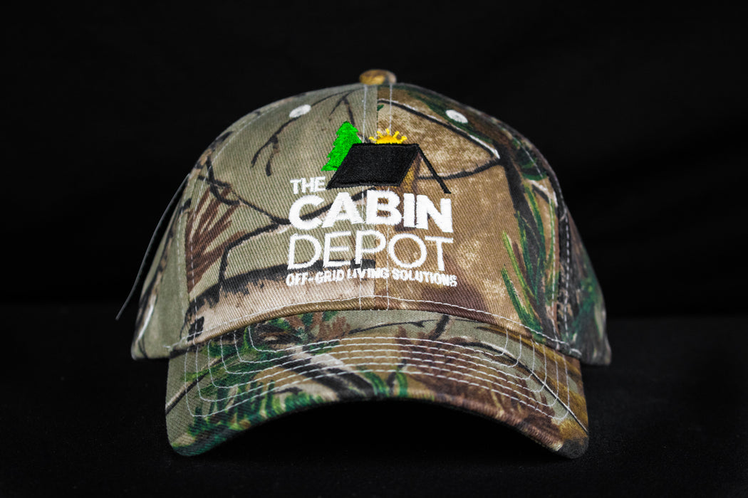 The Cabin Depot Camo Hat