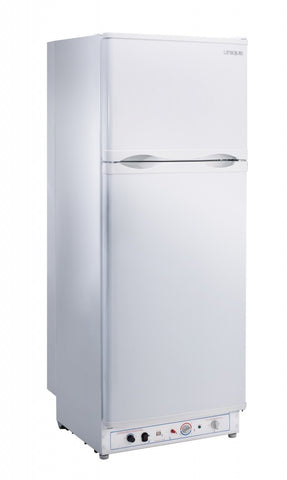 UNIQUE 10 CU/FT Fridge with Freezer - White