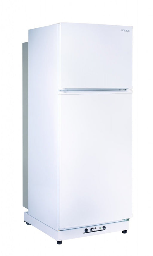 UNIQUE 13 CU/FT Propane Fridge with Freezer  - White (DISCONTINUED)