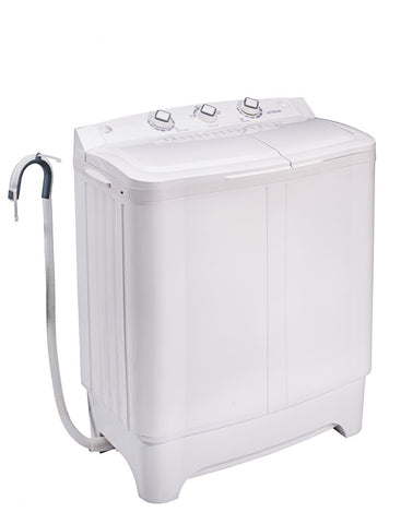 Unique Portable On-Grid/Off-Grid Semi Automatic DC Washing Machine