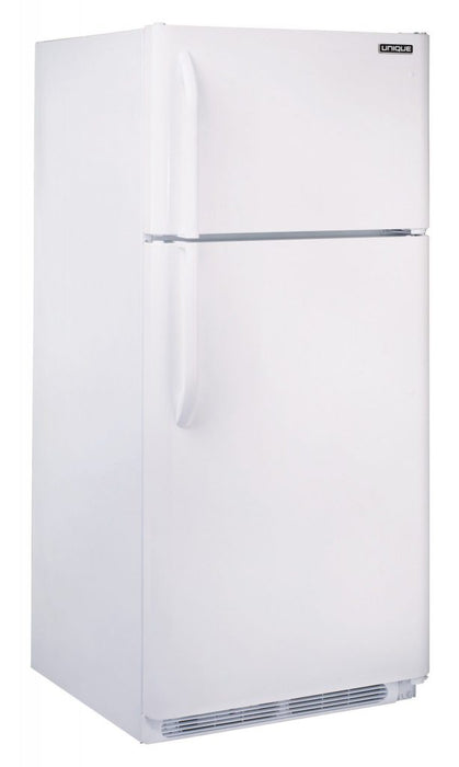Unique 22 cu/ft Propane Fridge - White
