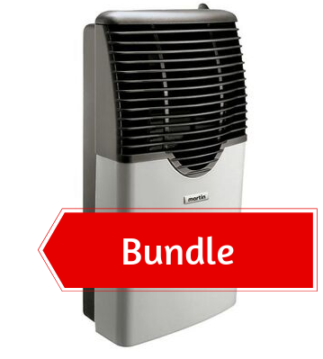 Martin Propane Direct Vent Heater MDV8P (8000 Btu) Bundle