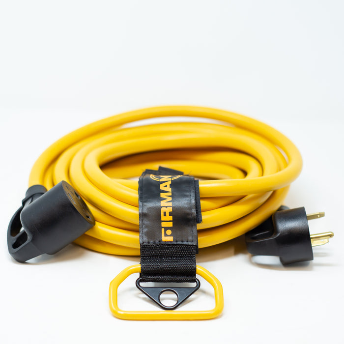 Firman Power Cord TT-30P to TT-30R RV Extension Cord 1110