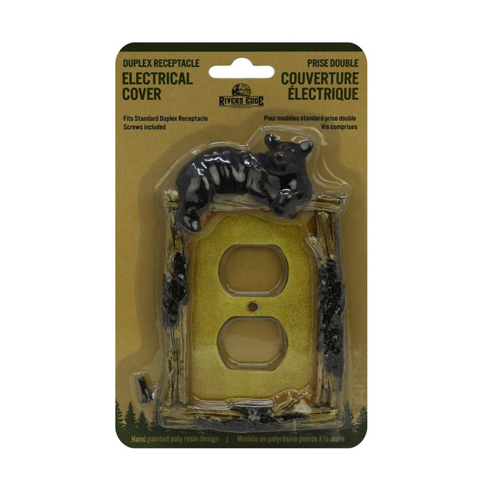 Receptacle Cover - Bear