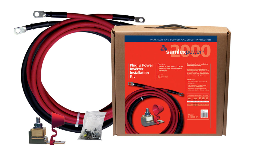 Samlex DC-2000-kit Inverter Installation kit