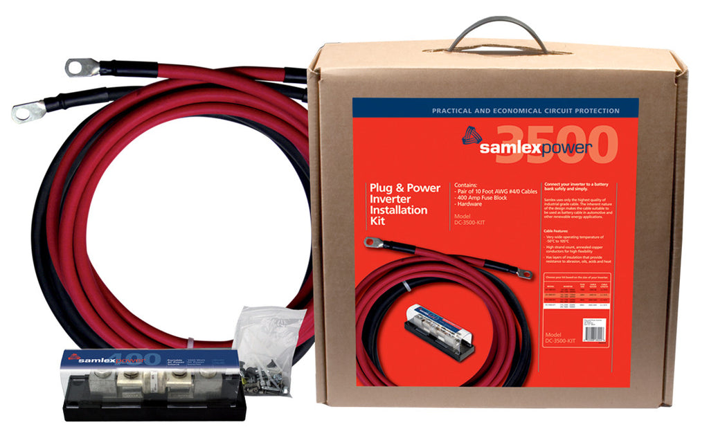 Samlex DC-3500-kit Inverter Installation kit