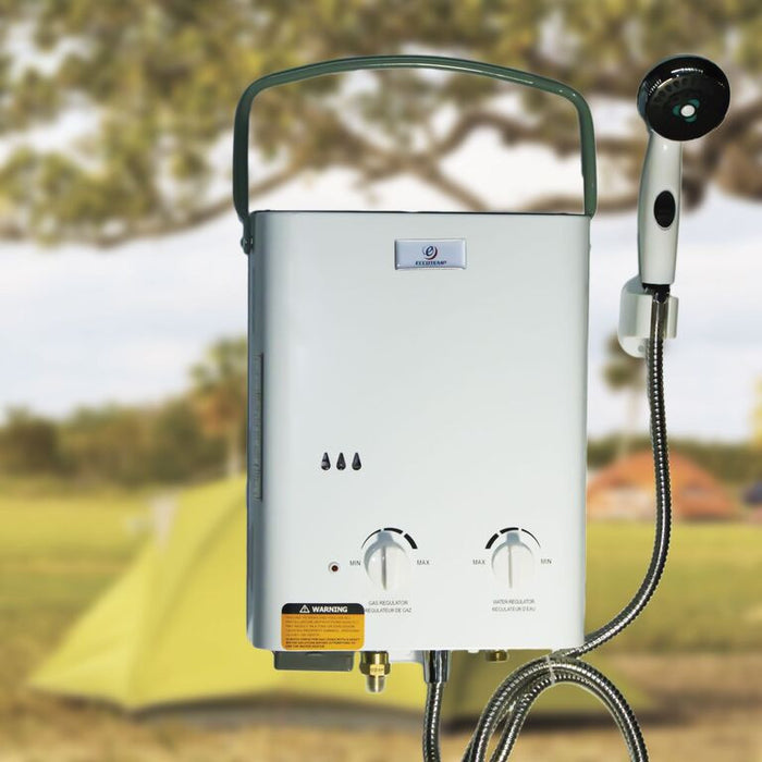 Eccotemp L5 Portable Tankless Water Heater Water Heater Eccotemp- The Cabin Depot Off-Grid Off Grid Living Solutions Cabin Cottage Camp Solar Panel Water Heater Hunting Fishing Boats RVs Outdoors