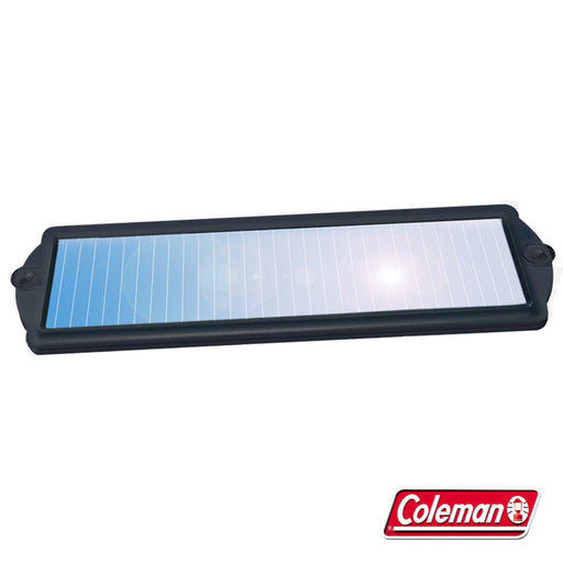 Coleman 2 Watt Solar Battery Maintainer Alternative Energy sunforce- The Cabin Depot Off-Grid Off Grid Living Solutions Cabin Cottage Camp Solar Panel Water Heater Hunting Fishing Boats RVs Outdoors