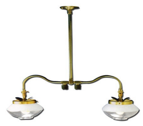Falks Propane Double Ceiling Light