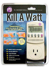 KILL A WATT Accessories P3 International- The Cabin Depot Off-Grid Off Grid Living Solutions Cabin Cottage Camp Solar Panel Water Heater Hunting Fishing Boats RVs Outdoors