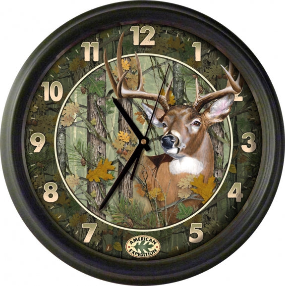 16-inch Wall Clock Leisure The Cabin Depot- The Cabin Depot Off-Grid Off Grid Living Solutions Cabin Cottage Camp Solar Panel Water Heater Hunting Fishing Boats RVs Outdoors