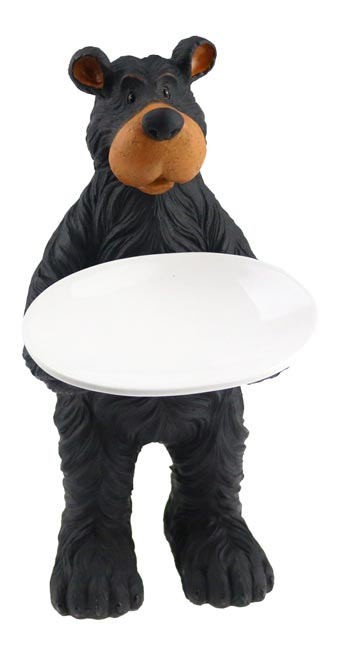 Willie Bear Standing Soap Dish
