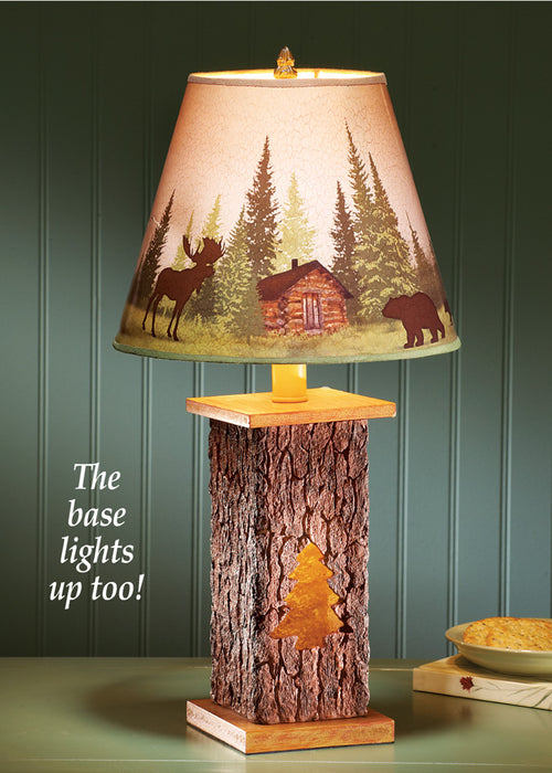 Northwoods Tree Lamp Leisure Collections- The Cabin Depot Off-Grid Off Grid Living Solutions Cabin Cottage Camp Solar Panel Water Heater Hunting Fishing Boats RVs Outdoors