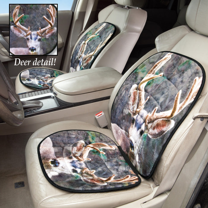Deer Car Seat Protector Cushion