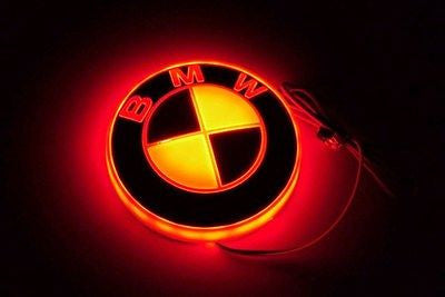 LED Illumination Badge (BMW-Red) by Race Sport