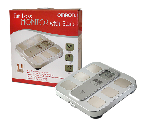Omron HBF-400 Fat Loss Monitor with Scale