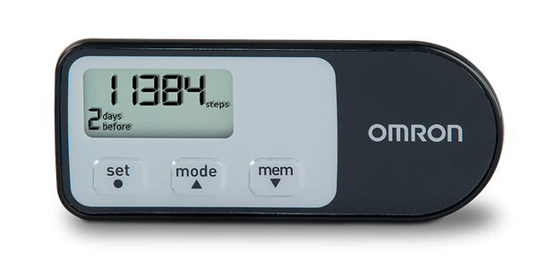 Omron HJ-321 Tri Axis Pedometer + Aerobic Steps and Calories