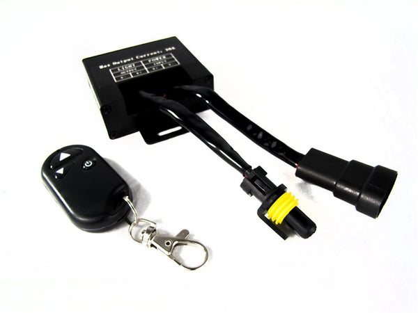 Remote control kit for LED light bars or spot lights (up to 360W / 30A / 12V)