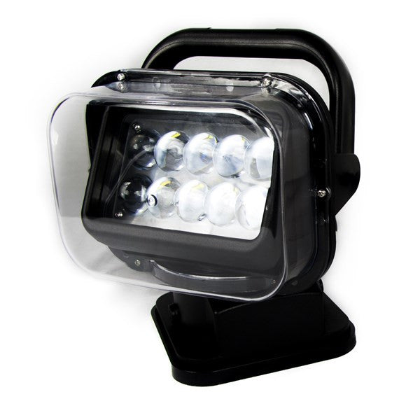New - Motorized 50Watt LED Spot Light with Remote Swivel Functionality