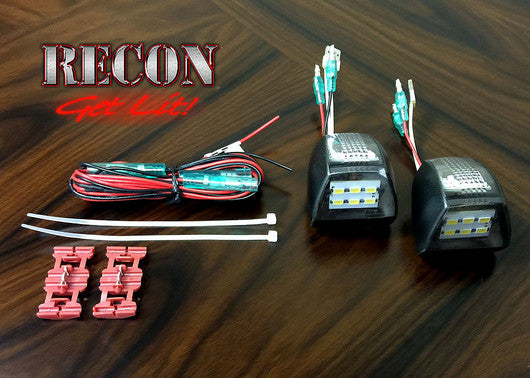 3-Watt License Plate Illumination Kit for 2nd GEN Chevy/GMC Trucks by RECON