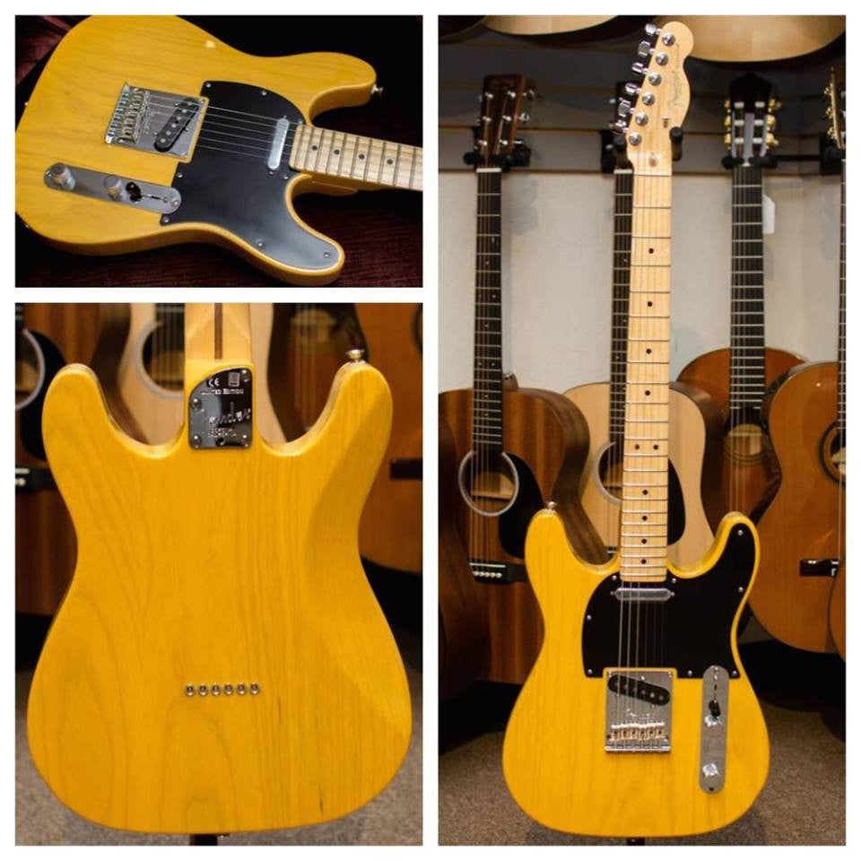 Fender Limited Edition Collection American Standard Double-Cut Telecaster Butterscotch Blonde