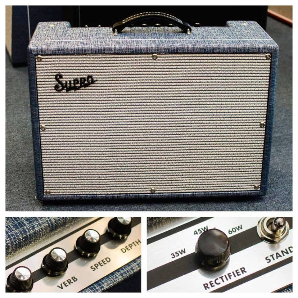 The New Supro USA Royal Reverb 2x10!