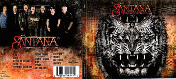 Honored to be acknowledged in the new Santana IV album
