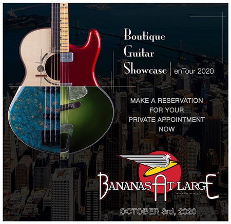 Boutique Guitar Showcase - 10/3/20