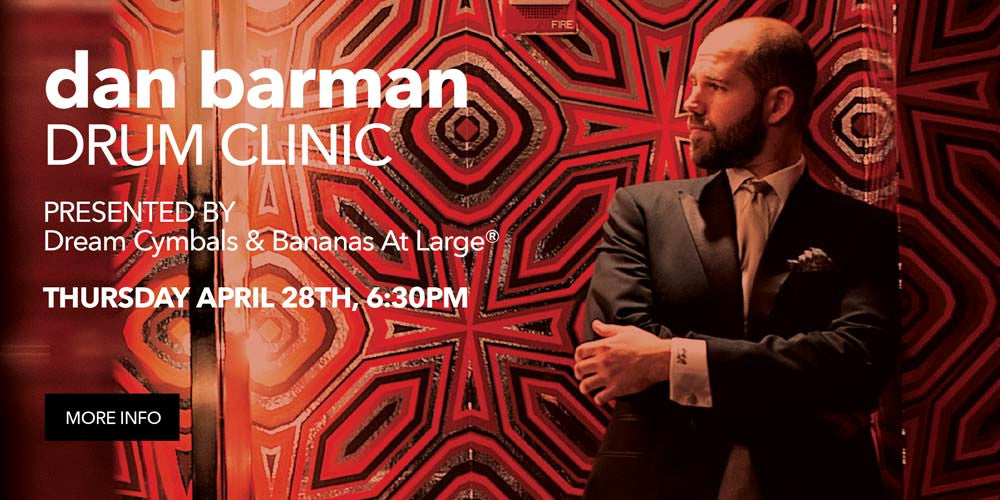 Dan Barman Drum Clinic