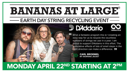 Earth Day Event : String Recycling Event - 4/22/19