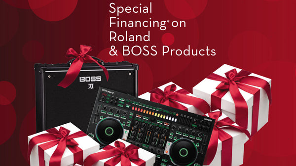 ROLAND & BOSS IN-STORE FINANCING