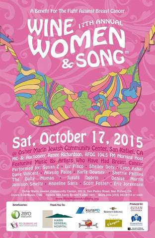Bananas at Large is proud to be a sponsor... The 17th Annual, Wine Women & Song - A Benefit For The Fight Against Breast Cancer.