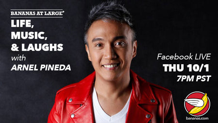 Life, Music, and Laughs with Arnel Pineda LIVE - October 1, 2020 7pm PST