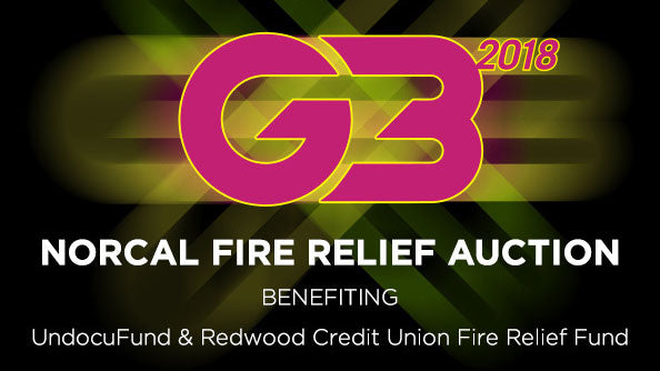 G3 NorCal Fire Relief Concert & Auction - 1/14/18