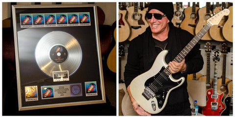 "Neal Schon ""Lights Strat"", for a limited time includes ""Escape"" Platinum Sales Award. $50,000"