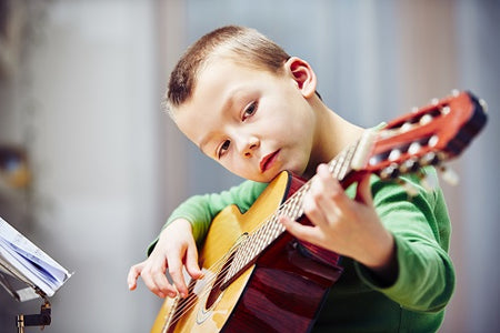 How to Start Your Kids Playing Guitar