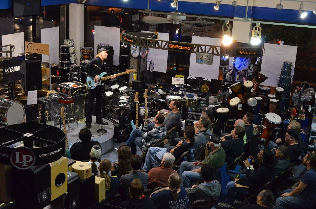 Billy Sheehan Bass Clinic - Yamaha & Hartke