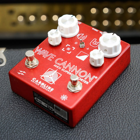 Caroline Guitar Company Wave Cannon mkII Superdistorter Distortion Pedal
