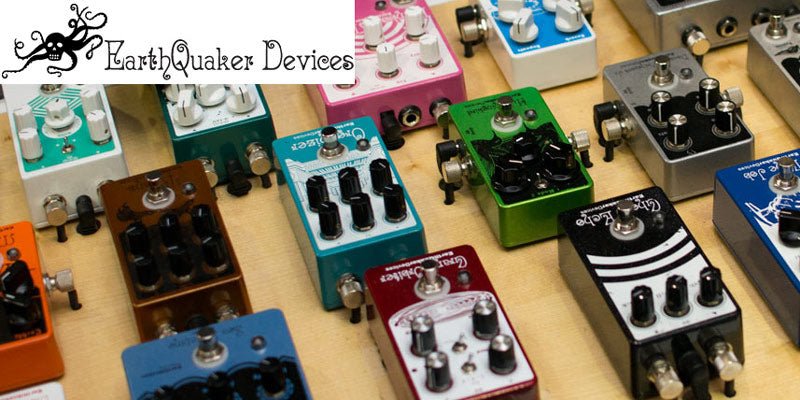 Earthquaker Devices pedals