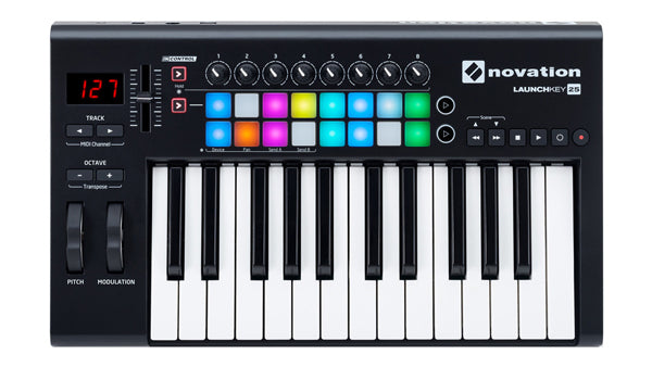 Novation Launchkey 25 MK2 USB Midi 25-Key Keyboard Controller