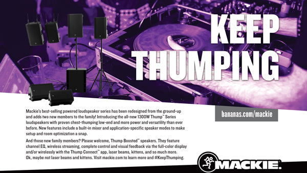 Mackie Thump Series