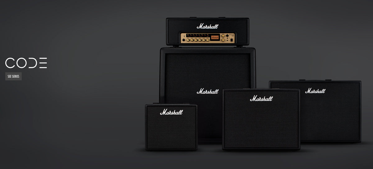 Marshall CODE Guitar Combo Amplifiers