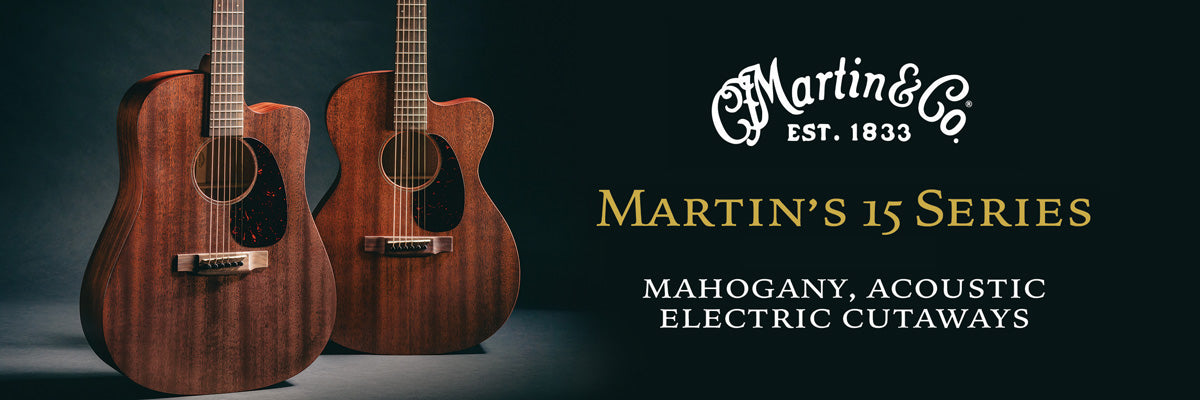 Martin 15 Series Acoustic Guitars